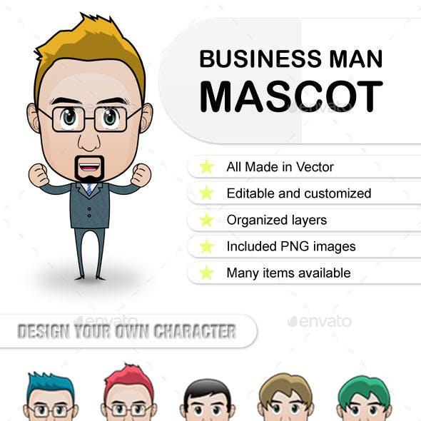 Business Man Character