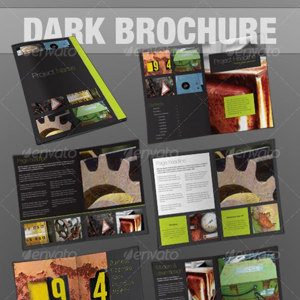 24page brochure - InDesign