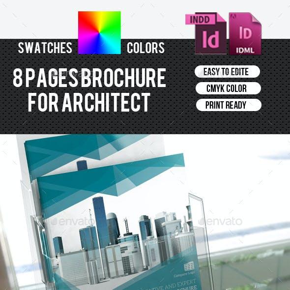 Corporate Square Bifold Brochure-V175