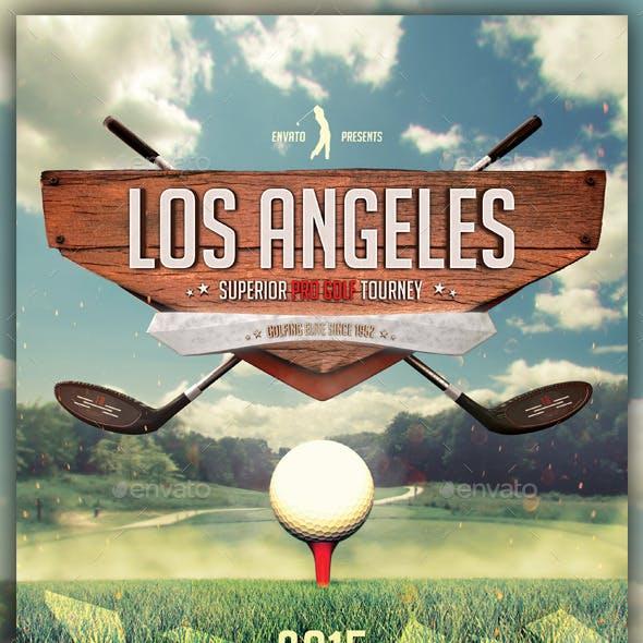 Golf Tournament / School Flyer Template
