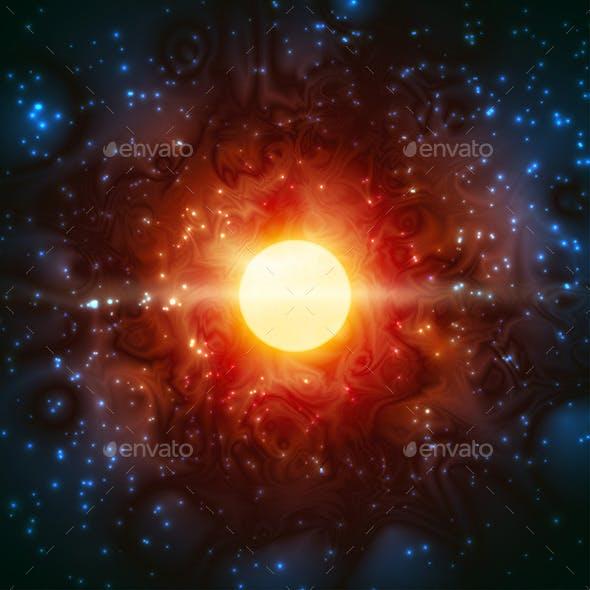 Space Burning Universe