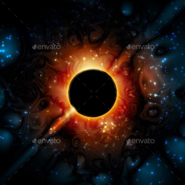 Black Hole Supermassive Gravity Universe