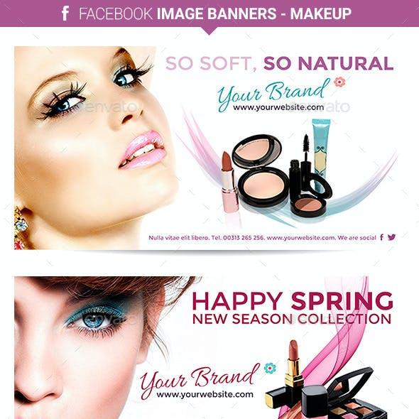 Facebook Image Banners - Makeup