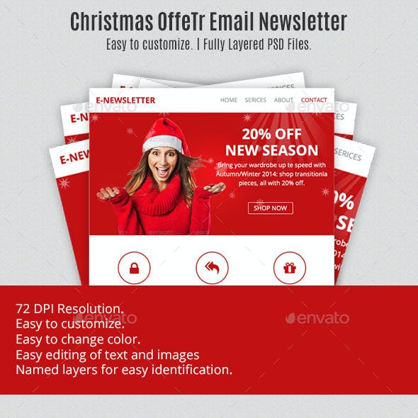 Christmas Multipurpose Email Template