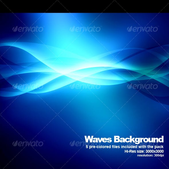 Hi-Res Wave background