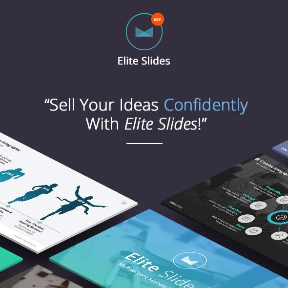 Slides Elite - Keynote Template (volume 1)
