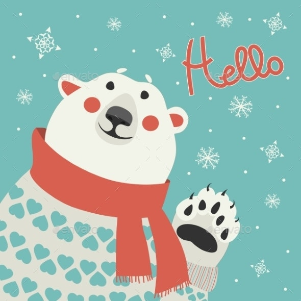 Polar Bear - Christmas Seasons/Holidays
