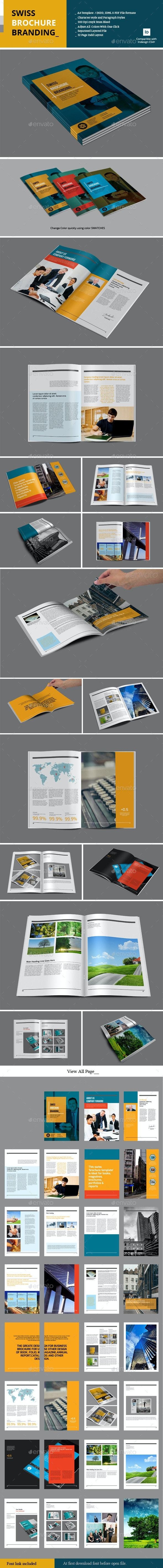 Swiss Brochure Branding - Corporate Brochures
