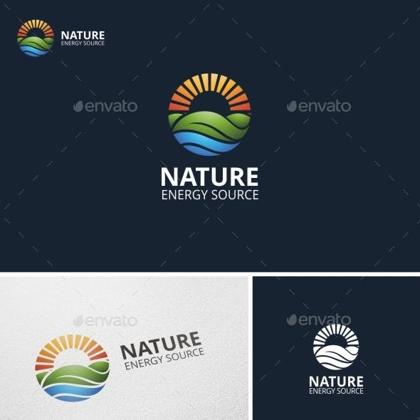 Nature Energy - Logo Template