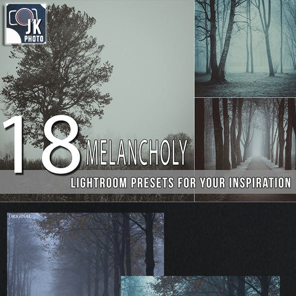 18 Melancholy Lightroom Presets