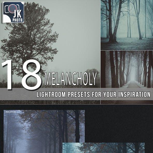 18 Melancholy Lightroom Presets