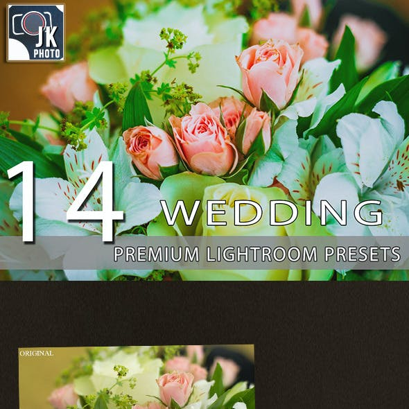 14 Wedding Lightroom Presets