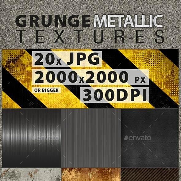 Metallic & Grunge Textures