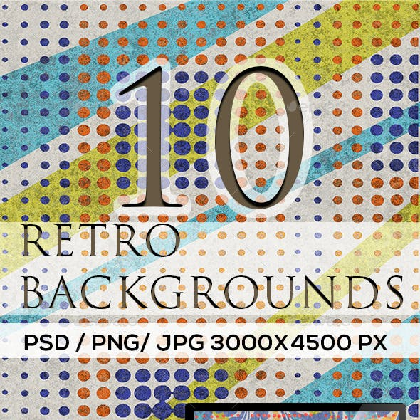 10 Background Retro