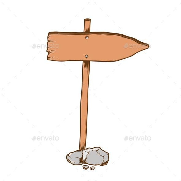Direction Sign Arrow