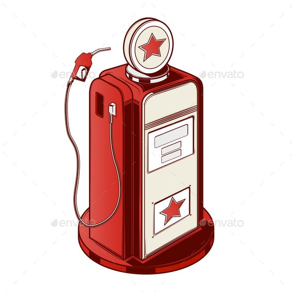 Gasoline Station Pump
