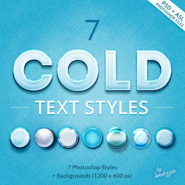 Cold Text Styles