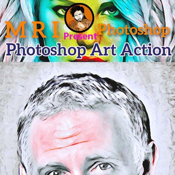 Photoshop Art Action