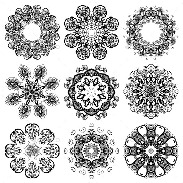 Round Ornamental Set