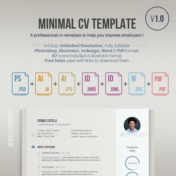 Cv Template 1.0