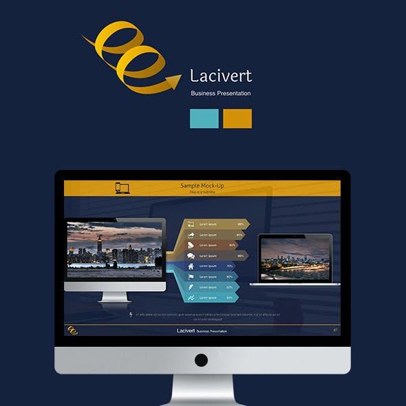 Lacivert Business Keynote Presentation Template