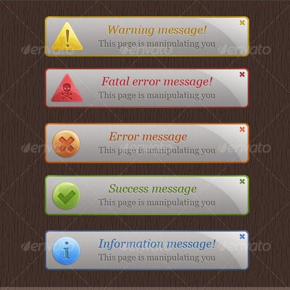 Warning Box