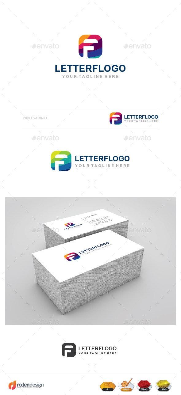 F Letter Llogo - Letters Logo Templates