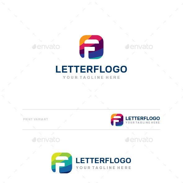 F Letter Llogo