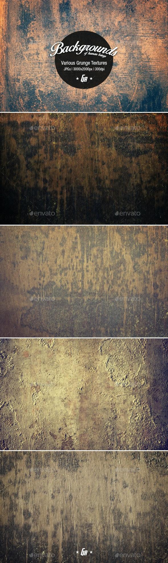 Various Grunge Textures 01