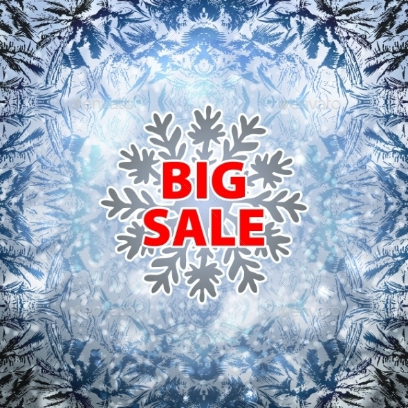 Winter Background - Retail Commercial / Shopping