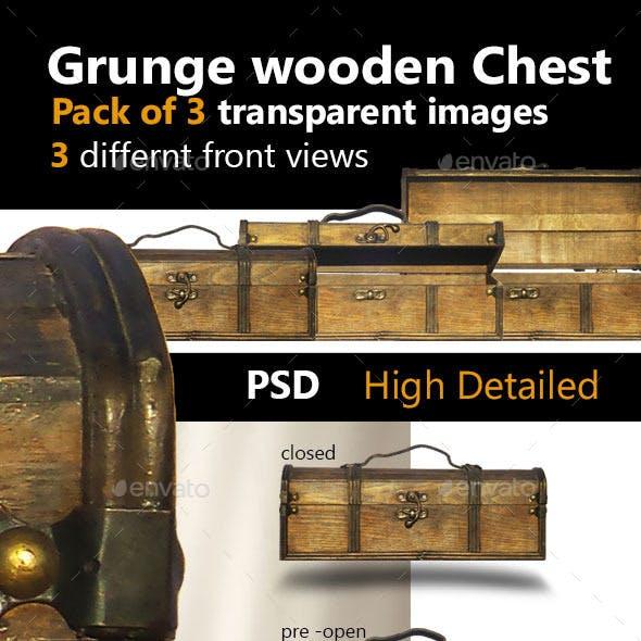 Grunge Wooden Chest