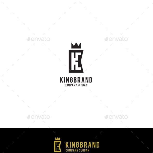 King Brand - Letter K Logo