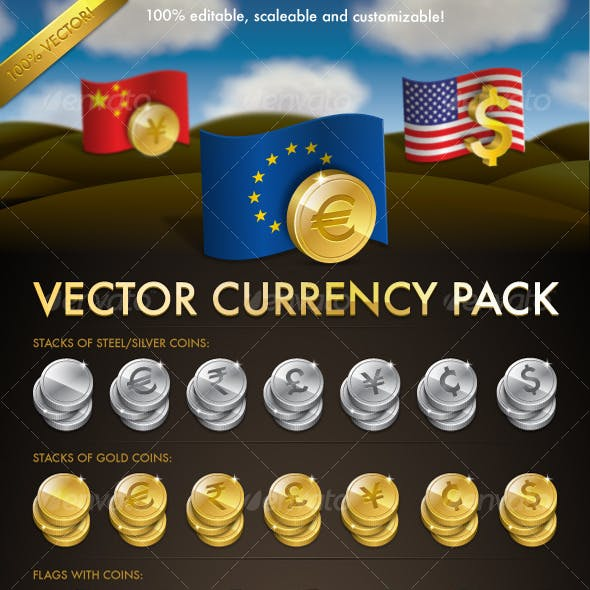 Vector Currency Pack