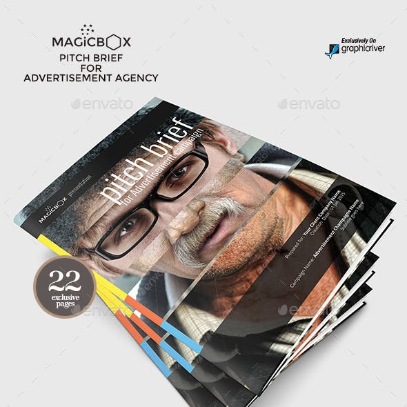 Pitch Brief Template for Advertisement Campaign