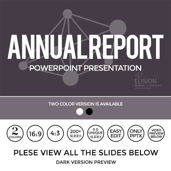 Annual Report PowerPoint Presentation