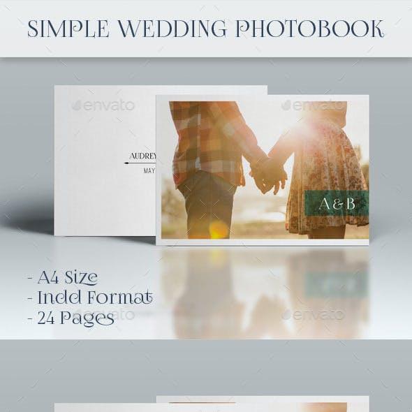 Simple Wedding Photobook