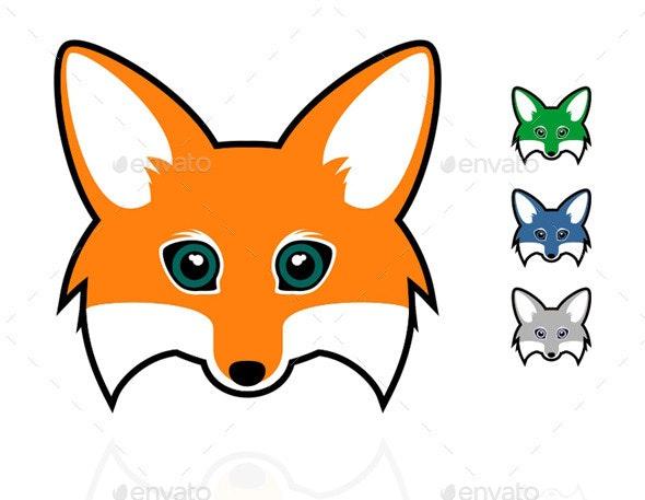 Fox Head By Witto8 Graphicriver