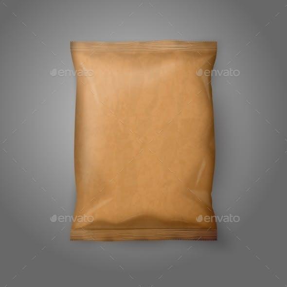Blank Paper Snack Bag