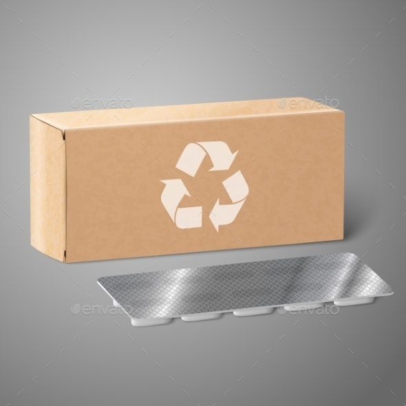 Medicine Packaging - Man-made Objects Objects