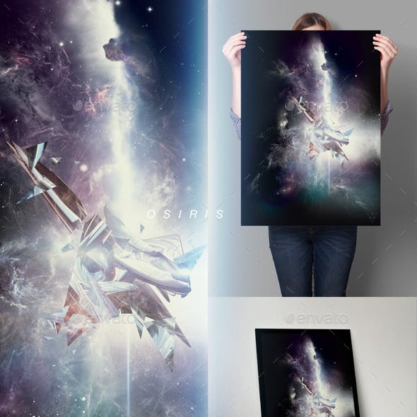 Osiris Space Art Series - Poster