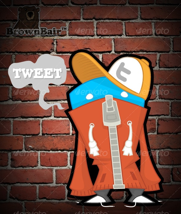 Twitter Personalities - MC - Characters Illustrations