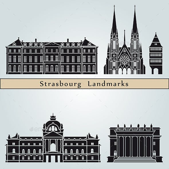 Strasbourg Landmarks and Monuments