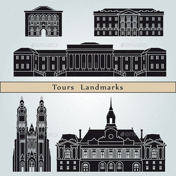 Tours Landmarks and Monuments