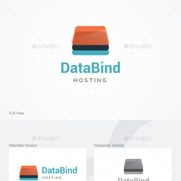 Data Bind Logo Template