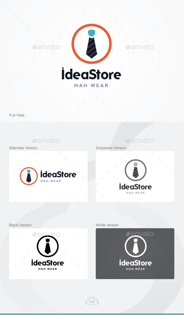 Idea Store Logo Template - Humans Logo Templates