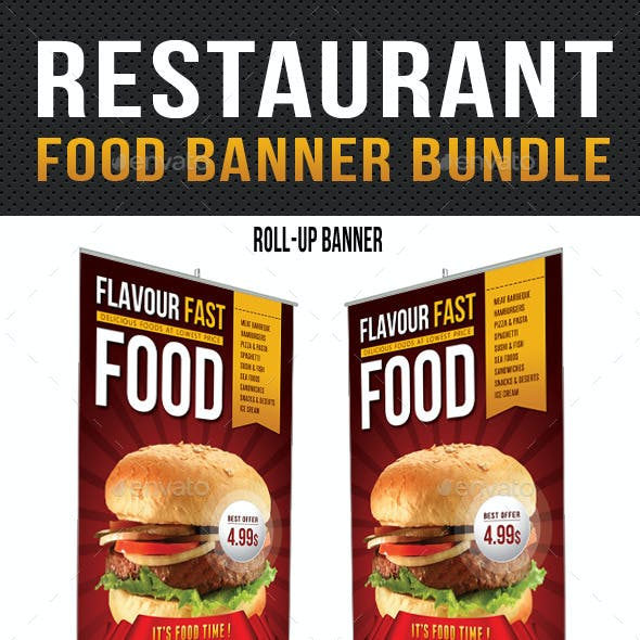 Restaurant Food Banner Bundle