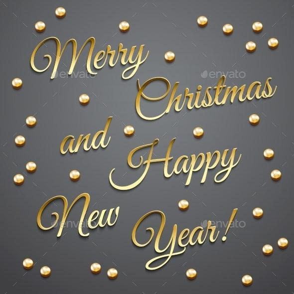 Greeting Christmas Card - Christmas Seasons/Holidays