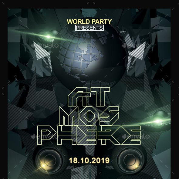 Atmosphere / Flyer Template