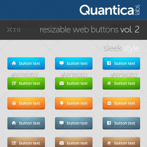 Resizable Web Buttons #2