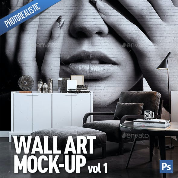 Wall Art Mock-Up vol.1